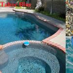 Tahoe Blue Pebble Reyes Pool Plastering INC.
