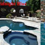 Midnight Blue Pebble Reyes Pool Plastering INC.