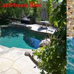 Caribbean Blue Pebble Reyes Pool Plastering INC.
